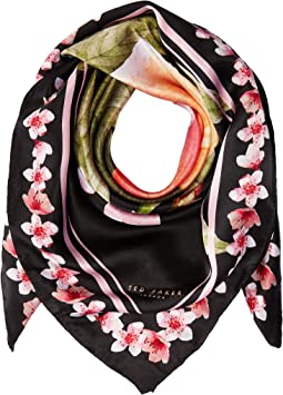 Ted Baker - Peach Blossom Square Scarf