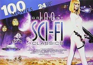 100 بهترین کلاسیک علمی تخیلی: مأموریت لیزر - نوجوانان از فضای خارج - مغز اتمی - اولین سفینه فضایی در ونوس - گالاکسینا - روزی که زمان آن به پایان رسید - ابراکساس: نگهبان جهان - ترس شبانه 92 مورد دیگر!
