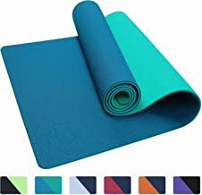 IUGA Yoga Mat Non Slip Textured Surface Eco Friendly Yoga Matt with Carrying Strap, Thick Exercise & Workout Mat for Yoga,...