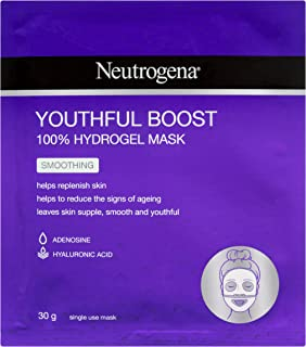 Neutrogena Youthful Boost Smoothing Hydrogel Mask, 30g
