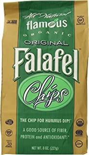 Flamous Brands Original Falafel Organic Chips, 8 Ounce
