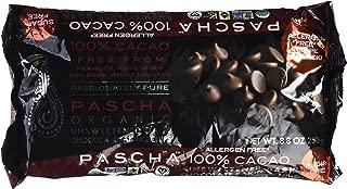 PASCHA ORGANIC UNSWEETNED 100% DARK CHOCOLATE CHIPS, 8.75 OZ- 6 PACK