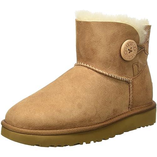 UGG Womens Mini Bailey Button Ii Winter Boot
