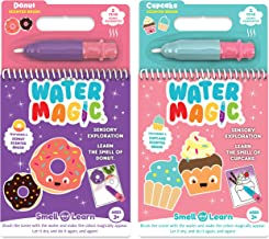 Scentco Water Magic - Scented Reusable Water Reveal Activity Books (Cupcake and Donut)