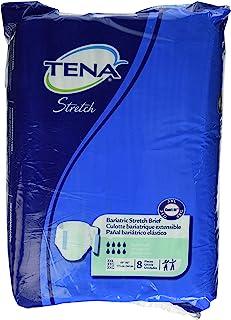 TENA Bariatric Briefs 3Xl Xxxl, Bag Of 8, Waists 69 - 96 In