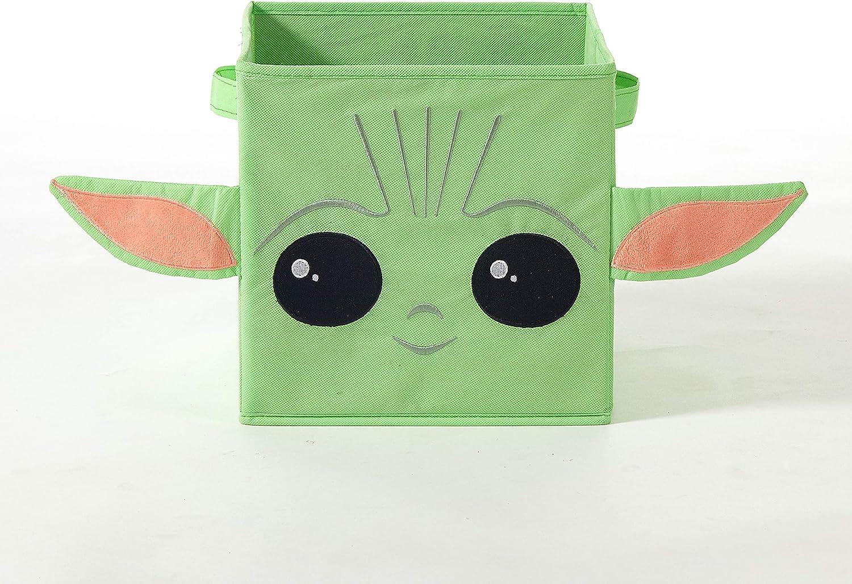 Idea Nuova Star Wars: The Mandalorian, The Child Figural Storage Cube, 10