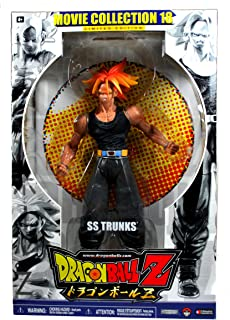 Jakks Pacific Year 2007 Dragonball Z Movie Collection Series 18 Limited Edition 9 Inch Tall Action Figure - SS TRUNKS
