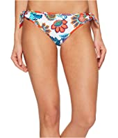Tommy Bahama - Fira Floral Reversible Side-Tie Hipster Bikini Bottom