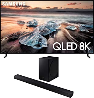 """Samsung QN55Q900RB 55"""" 8K Ultra High Definition Smart QLED TV with a Samsung HW-T650 Bluetooth Soundbar with Dolby Audio W..."""
