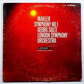 Mahler: Symphony No. 1, Solti, London Symphony Orchestra