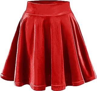 red santa skirt