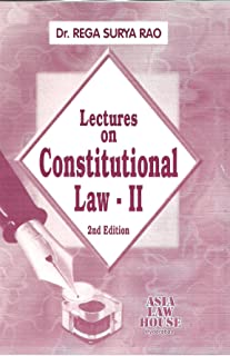 Lectures on Constitutional Law - II