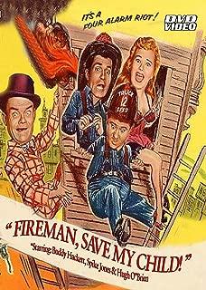 Fireman Save My Child-DVD-Starring Hugh O'Brian and Buddy Hackett-1954