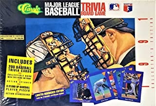 Major League Baseball Trivia Board Game; 1991 Collector's Edition by Classic Games