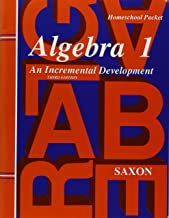 Saxon Algebra 1 Tests and Answer Key Third Edition
