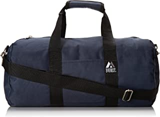 Everest 16-inch Round Duffel, Navy, One Size
