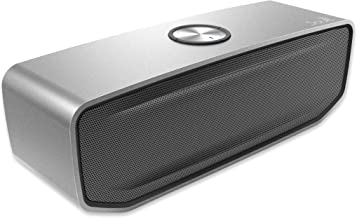 Resonate Wireless Bluetooth Speaker by Soultech, Powerful Detailed Rich Stereo Sound & Deep Bass, Dual High Density Drivers & Dual Integrated Subwoofer Radiators for Ultimate Performance