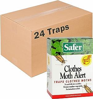 Safer Brand Clothes Moth Traps - 24 Total Traps