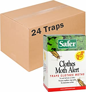 Safer Brand Clothes Moth Traps - 24 Total Traps
