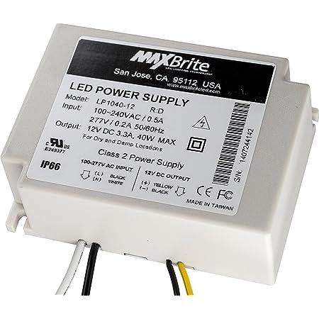 UL//cUL Certified IP68 Weatherproof 90-305V AC Input 120W LED Power Supply Class 2 CE 12V DC Output RoHS