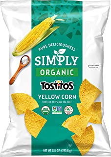 Simply Organic Tostitos Yellow Corn Tortilla Chips, 8.25 Ounce