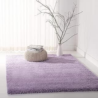 Safavieh California Premium Shag Collection SG151-7272 Lilac Area Rug (4' x 6')