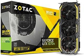 Zotac GTX 1070 Ti GeForce GTX 1070 Ti 8 GB GDDR5 - Tarjeta gráfica (GeForce GTX 1070 Ti, 8 GB, GDDR5, 256 bit, PCI Express x16 3.0, 3 Ventilador(es))
