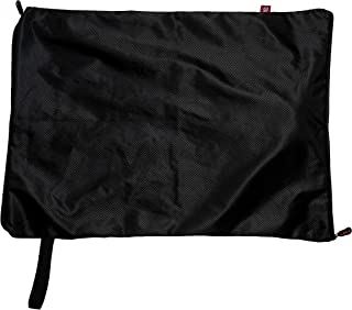 STNKY Washable Sports Bag Heavy Duty for Carrying and Washing Gym Clothes, Shoes, Assorted Laundry (Black, Large)
