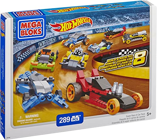 Mega Bloks 91743 - Hot Wheels - Baue 8 in 1 Autos