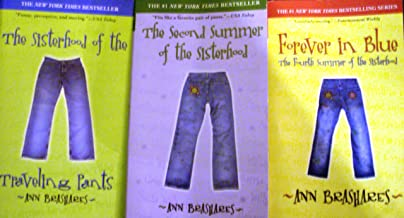Sisterhood books Serie (SET OF 3 BOOKS), Sisterhood of the Traveling Pants, The Second Summer of the Sisterhood, Forever i...