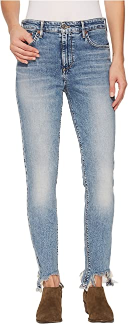 Lucky Brand - Bridgette Skinny jeans in White Rock