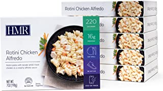 HMR Rotini Chicken Alfredo Entree, 7 oz. Servings, 6 Count
