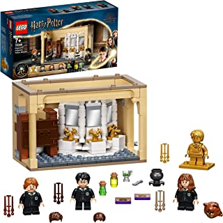 LEGO 76386 Harry Potter Hogwarts: Polyjuice Potion Mistake Castle Set with 20th Anniversary Golden Minifigure and Transfor...
