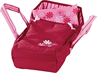 Gotz Sweet Dreams Soft Portable Carry Bed with Handles for Baby Dolls up to 16.5