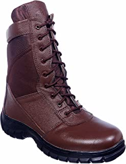 SSG Men's High Ankle Brown Commando Boots