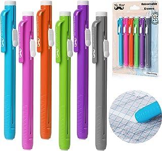 Mr. Pen- Erasers, Eraser, Pack of 6, Eraser Pen, Pencil Erasers, Erasers for Kids, Erasers for School, Eraser Pencil, Art ...