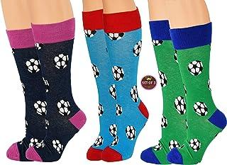 جوارب كرة القدم الجديدة من آراد للرجال والنساء، ملابس رياضية مجنونة (عبوة من 3 قطع)