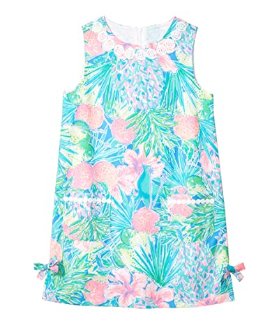 Lilly Pulitzer Kids Little Lilly Classic Shift Dress (Toddler/Little Kids/Big Kids) (Multi Swizzle In) Girl