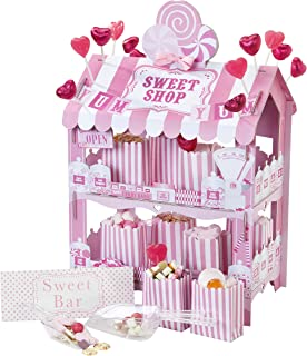 sweet shop pink treat stand