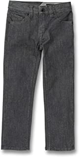 Volcom Baby Little Boys' (4-7) Vorta Jeans - Gray