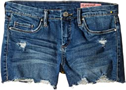 Denim Distressed Cut Off Shorts (Big Kids)