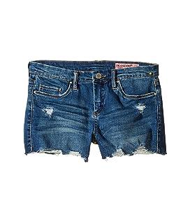 Denim Distressed Cut Off Shorts (Big Kids)