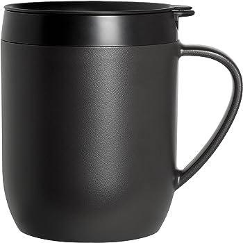 Zyliss HotMug - Prensa francesa de viaje, 12,7 cm, color negro