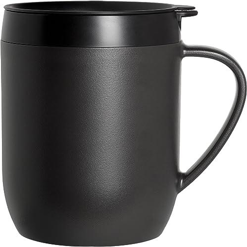 ZYLISS Travel French Press and Coffee and Tea Mug, Single Serve