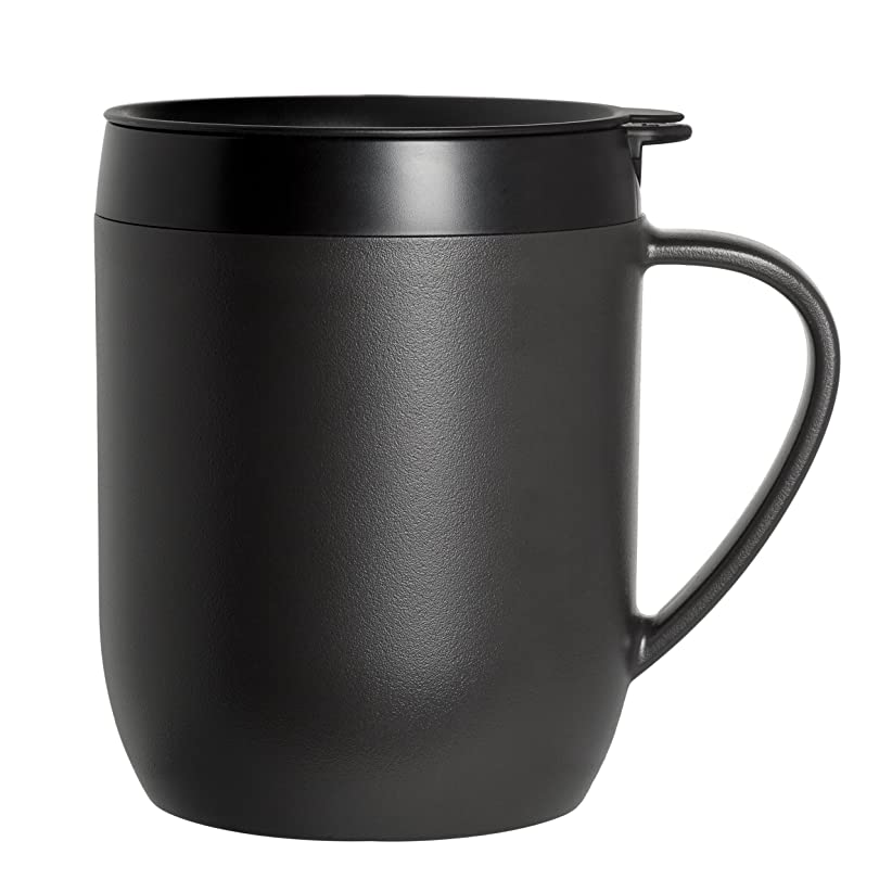 キロメートルセグメント宣教師Zyliss Travel French Press And Coffee Mug, Single Serve, New.