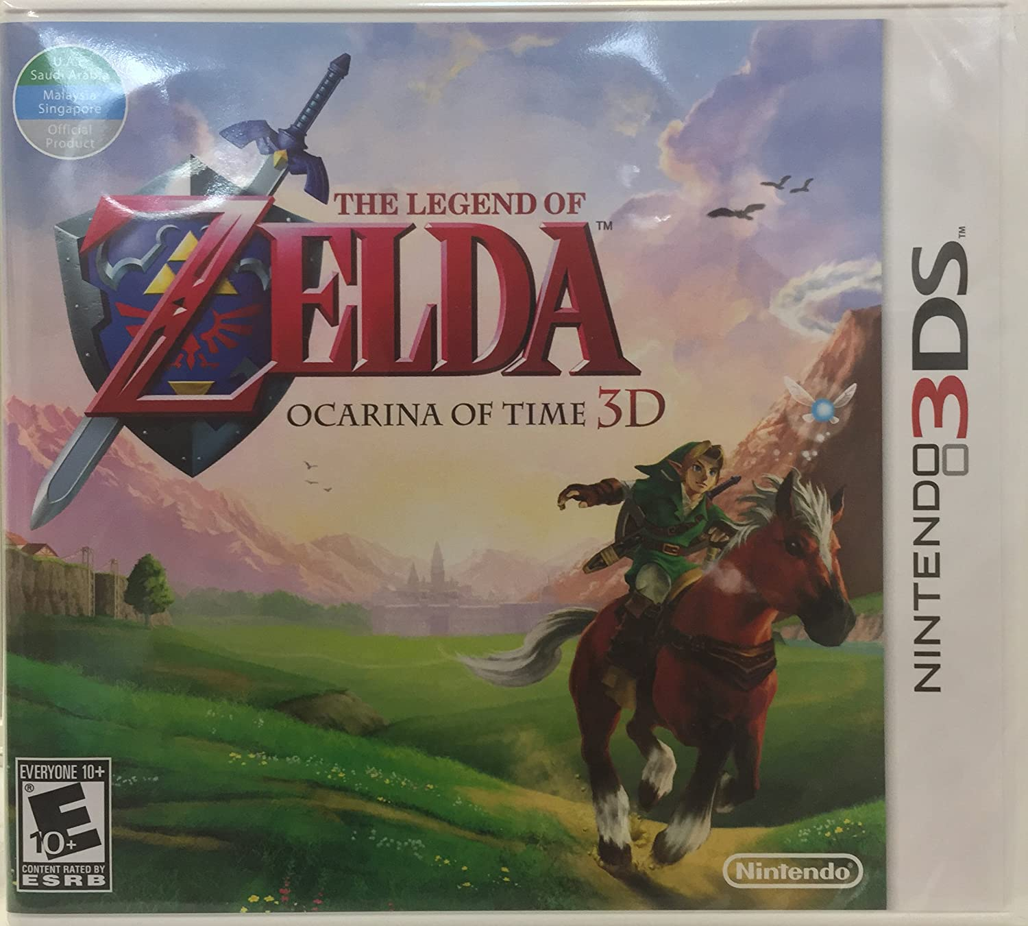The Legend Award-winning store of Zelda and the NINTENDO 3DS Ocarina 100% quality warranty for time
