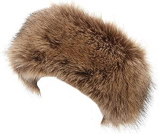 faux fur headband new look