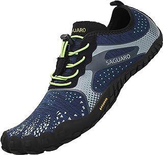 comprar comparacion SAGUARO Zapatos Descalzos para Hombre Mujer Respirable Secado Rápido Minimalistas Zapatillas de Trail Running Unisexo