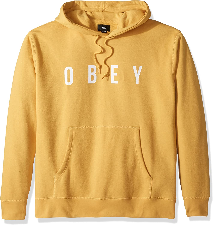 Obey Men's Anyway Hooded Sweatshirt Pullover