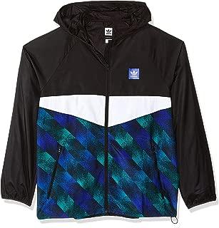 green black and white adidas jacket